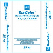 Tex-Color. Marmor Scheibenputz